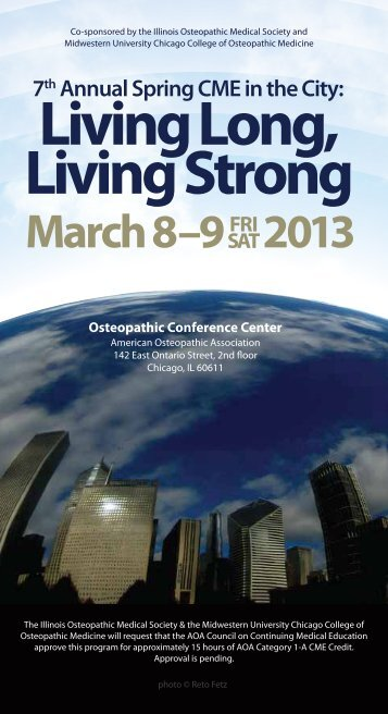 Living Long - Illinois Osteopathic Medical Society