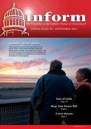Inform 90.pdf - Catholic Diocese of Christchurch