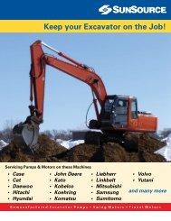 Excavator Repair - Sun Source