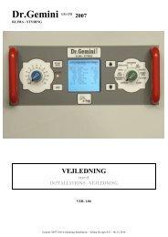 Vejledning og Installation ver.1.06 - Klima Design A/S