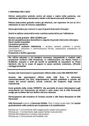 vantaggi per i soci cna pensionati - CNA Emilia Romagna