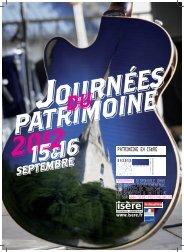 Programme journee patrimoine 2012 - Conseil général de l'Isère
