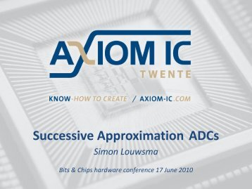 Successive Approximation ADCs - Hardware Conference