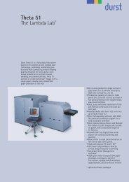 Theta 51-E - Durst  Image Technology US LLC