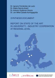 report on state of the art in university - industry cooperation at ...