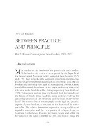 Between Practice and Principle - Redescriptions