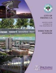 CITY OF FRESNO, Ca DIRECTOR OF aVIATION