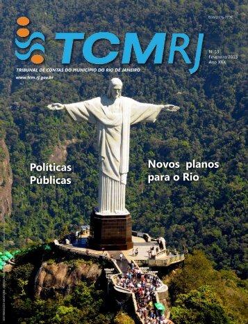 Políticas Públicas Novos planos para o Rio - Tribunal de Contas do ...