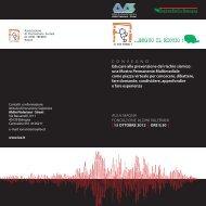 Invito e Programma - CNA Emilia Romagna