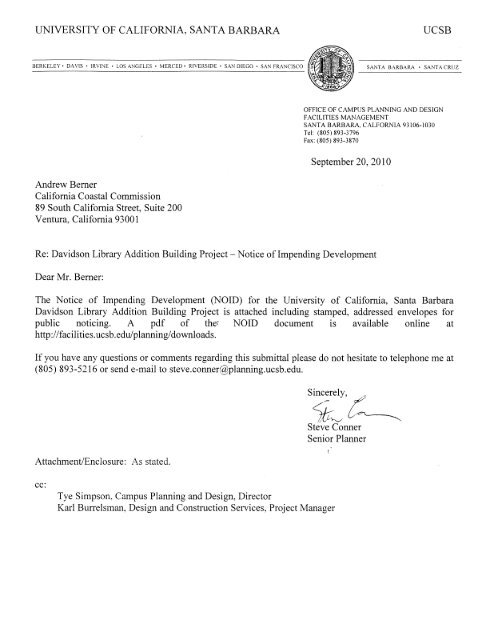 Davidson Library Addition Building Project NOID (PDF