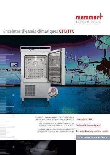 Memmert Enceintes d'essais climatiques - t Labo