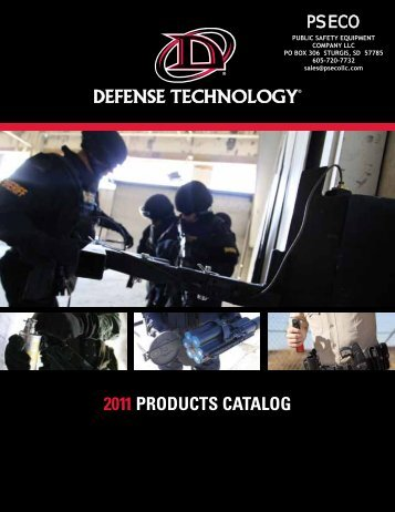 defense technology catalog - Public Safety Equipment Company LLC