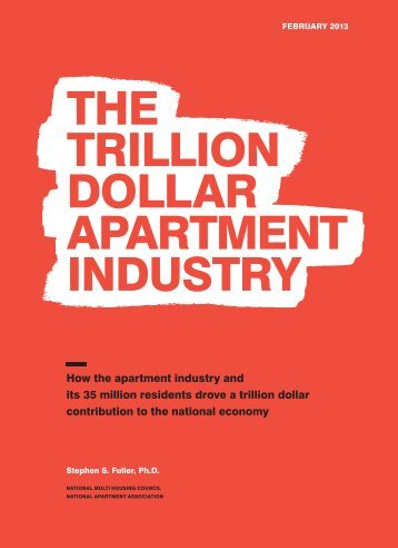 the trillion dollar apartment industry - National Multi Housing Council