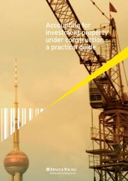 Accounting for investment property under construction - a practical ...
