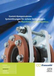 Gummikompensatoren - Frenzelit-Werke GmbH & Co. KG