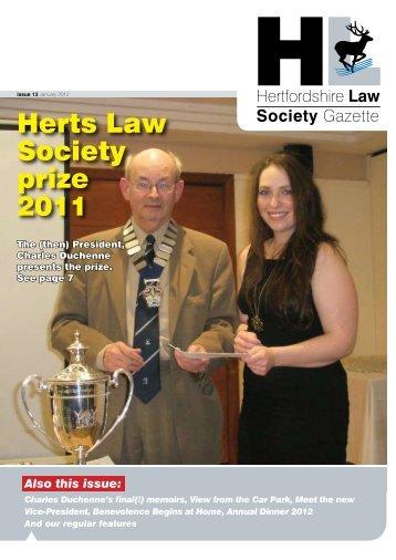 Herts Law Society Journal - insitelaw