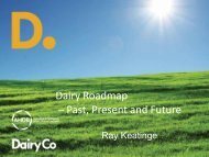 Dairy Roadmap – Past, Present and Future - The Royal Association ...