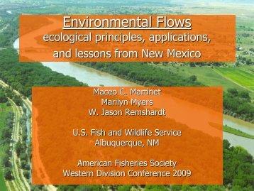 Environmental Flows