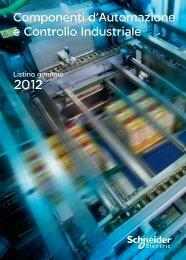 Componenti d'Automazione e Controllo Industriale - Schneider Electric