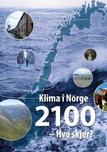 Klima i Norge – Hva skjer? - Bjerknessenteret for klimaforskning