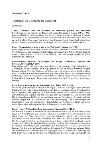 Medienliste - G/Geschichte