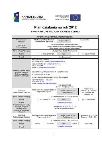 """""""Rozwój wykształcenia i kompetencji w regionach"""" PO KL (2012-07"""