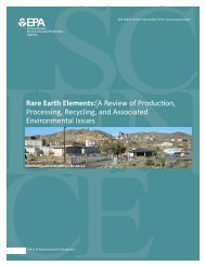 Rare Earth Elements: A Review of Production, Processing ...