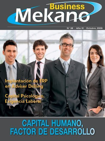 Capital humano, faCtor de desarrollo - Mekano