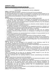 Reglement betreffende de jaarmarkt van Sint-Job - Gemeente Ukkel