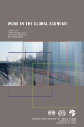 IILS - Work in the Global Economy - 2003 - New Unionism