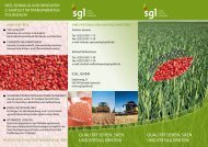 Download Flyer (pdf) - SGL GmbH