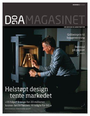 Last ned hele magasinet (PDF 6MB). - Norsk Designråd