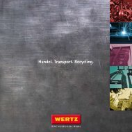 Wertz Unternehmensbroschüre [PDF, 1882 KB]