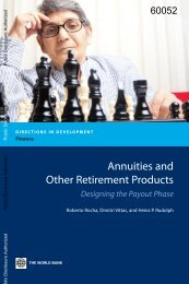 Annuities and Other Retirement Products - Amazon Web Services