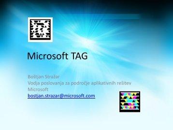 Kako deluje Microsoft TAG - Europlakat