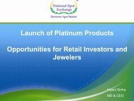 Launch of Platinum Products Opportunities for Retail Investors and ...