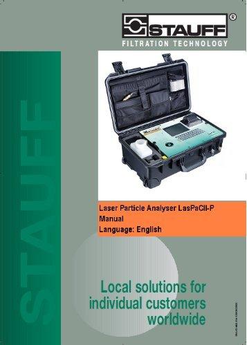Manual LasPaC II-P (PDF - 0,8 MB) - Stauff