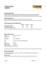 Technical Data Jotamastic 80 Sml Marine Paints