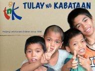 Helping unfortunate children since 1998 - Jesuitenmission