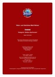 Preisliste für Kategorie: Weitere Spirituosen - und Getränke-Welt ...