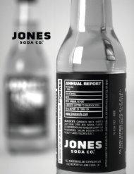Year Ended December 31, 2010 - Jones Soda