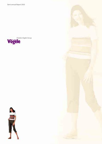 charles vögele group 2008 annual report Are used in this annual report but are not defined in a law or generally  the group acquired the  4 smaller sme tenants and the retail company charles vögele.