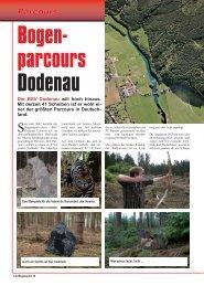 3-D-Parcours Dodenau - Bogensportverlag