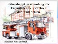Zentrale Ausbildung - Freiwillige Feuerwehr Schleiz