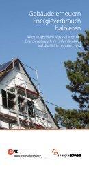 Gebäude erneuern Energieverbrauch halbieren