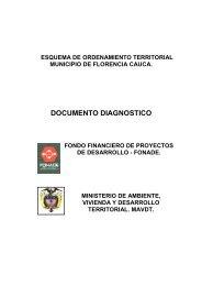 documento diagnostico - Corporación Autónoma Regional del Cauca