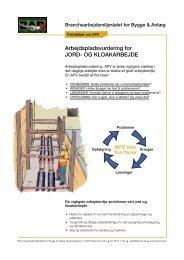 APV jord og kloak v3.indd - BAR Bygge & Anlæg