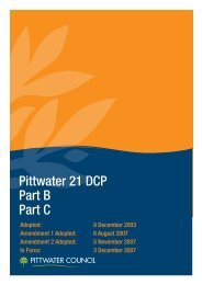 P21-DCP Volume 2 - Pittwater Council