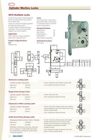 Cylinder Mortice Locks - Hardware Direct
