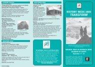 15739 History Week - NSW
